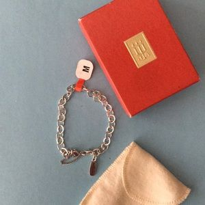 NWT James Avery medium charm bracelet